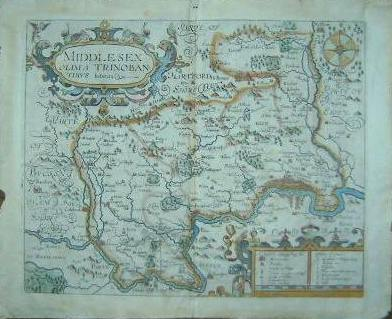 Kind-Hearted Antique County Map Of Hertfordshire By John Cary Original Outline Colour 1793 Maps, Atlases & Globes